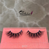 D116 Handmade Mink Eyelash Extensions good quality Lashes real siberian mink lashes Beauty Luxury Se