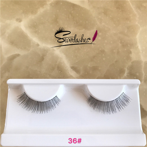 36# New Styles 3d human hair False Eyelashes Top Quality Custom Lashes Packaging human hair Lashes