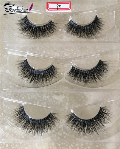 D090  Naked band  3D Mink Lashes by Severlashes