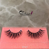 D121 wholesale products Mink False Eyelash 3D Lash