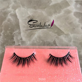 D160 Customized Various Styles And Package 3D Real Siberian Mink Fur False Eyelash Extensions Magnet