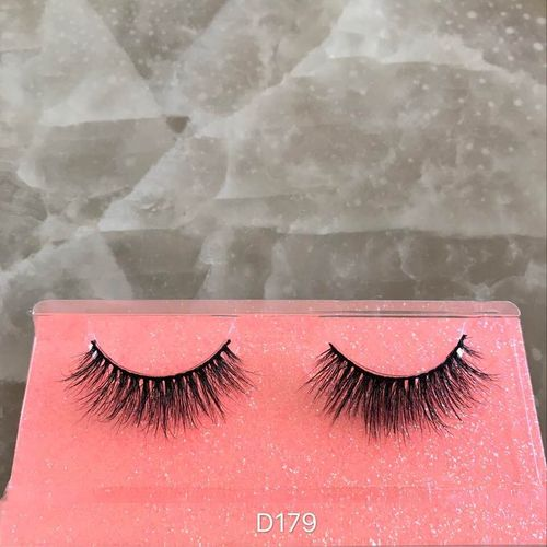 D179 Severlashes 3D luxury Fashion Authentic 100% Mink Fur Lashes stripe cosmetic SOFT Eyelashes