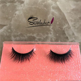D146 Wholesale Beauty Supply Eyelash Premium Mink Fur Eyelashes Full Strip Privated Label 3D Mink La