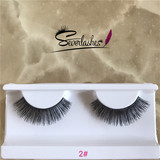 2# Severlashes 100% human hair material eyelash high quality private label lashes