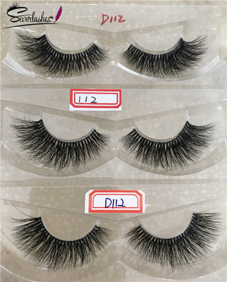 D112  Naked band 3D  Mink Lashes by Severlashes  by Severlashes