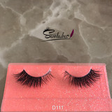 D111 Naked band lashes 3D fashion soft comfortable mink  lashes