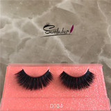 D104 3d mink lashes private label mink eyelashes wholesale false eyelashes