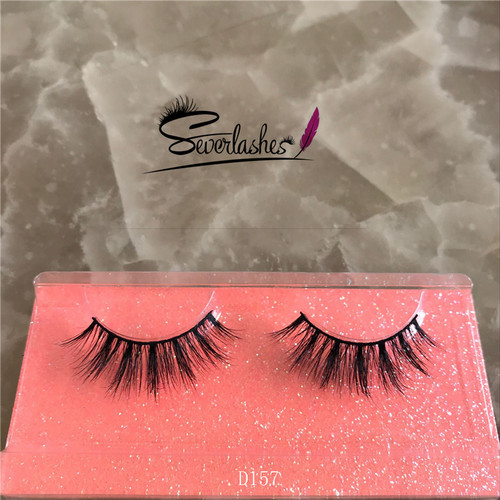 D157 Customized Packaging alibaba best sellers Handmade 3D Mink Lashes