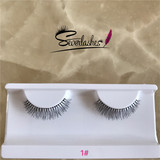 1# Severlashes 100% human hair material eyelash high quality private label lashes