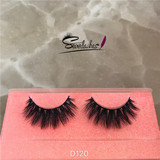 D120 wholesale products Mink False Eyelash 3D Lash