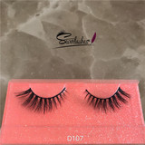 D107 Natural Long Thick Fake Eyelashes Extension Mink 3D Hair Eyelash Makeup Beauty False Eye Lashes