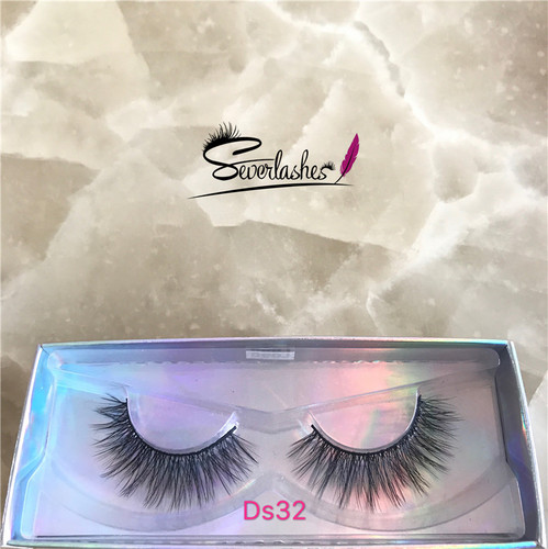 Ds32 New fashion 3D long silk fake lashes
