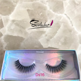 Ds16 Perfect Eyelashes Manufacture 3D Silk False Lashes