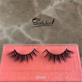 D109 High quality 3D mink eyelashes China Manufacturer beauty mink lashes