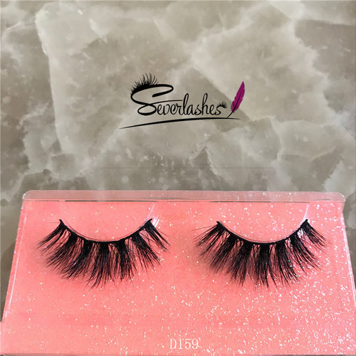 D159 Customized Packaging alibaba best sellers Handmade 3D Mink Lashes